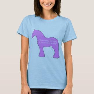 12 Hands Draft Horse T-Shirt