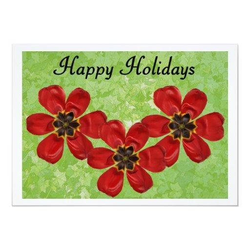 12 Happy Holidays Card