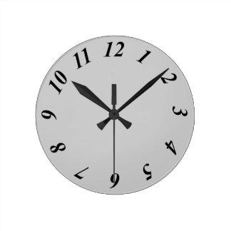 12 Hour Clock Face