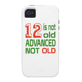 12 is not old advanced not old Case-Mate iPhone 4 cover