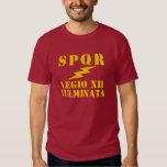 12 Julius Caesar's 12th 'Thunderbolt' Legion T-Shirt