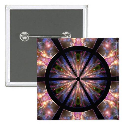 12 Kingdoms 2 Inch Square Button