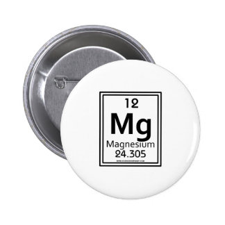 12 Magnesium Buttons