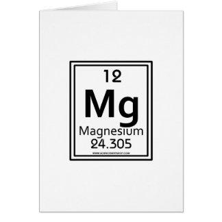 12 Magnesium Greeting Card