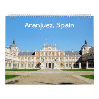 12 meses calendario 2017 de la foto de Aranjuez,