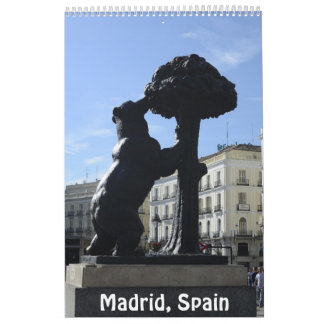 12 meses calendario 2017 de la foto de Madrid,
