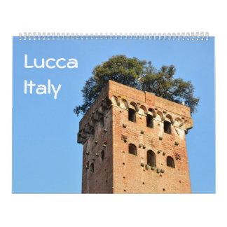 12 meses calendario de la foto de Lucca, Italia