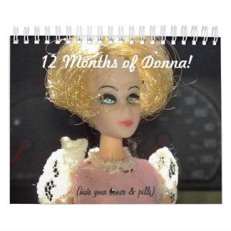 ¡12 meses de Donna Calendarios