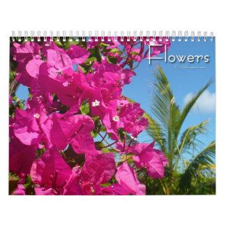 12 meses de fotografía floral, 3ro edición calendarios de pared