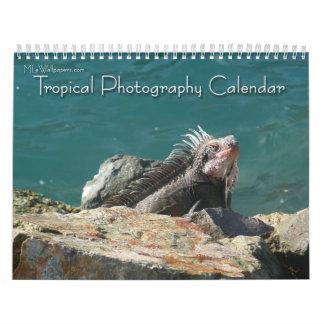 12 meses de fotografía tropical, 2da edición calendarios de pared