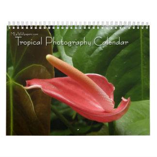 12 meses de fotografía tropical, 4ta edición calendario de pared