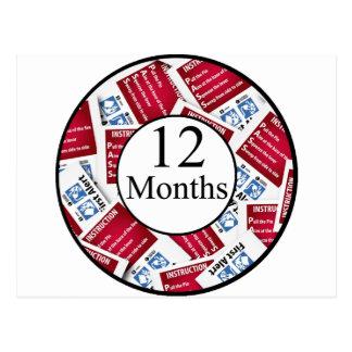 12 meses de jalón del bombero postal