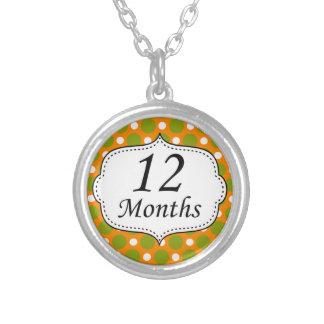 12 meses de jalón del lunar joyería