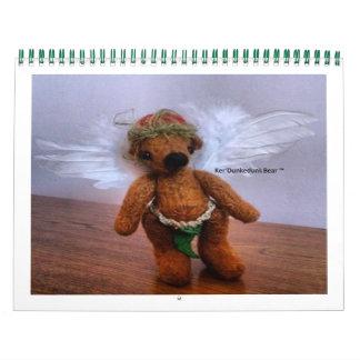 12 meses del oso de Ker'Dunkedunk Calendarios
