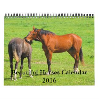 12 Month 2016 Beautiful Horses Calendar