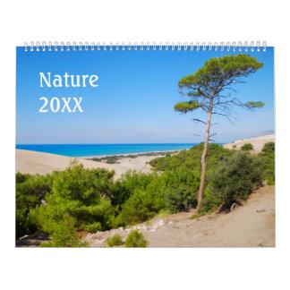 12 month 2017 Nature calendar