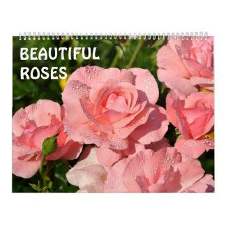 12 month Beautiful Roses Calendar