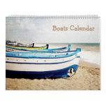 12 month Boats Calendar