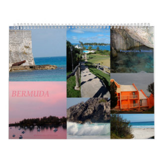 12 Month Calendar of Bermuda