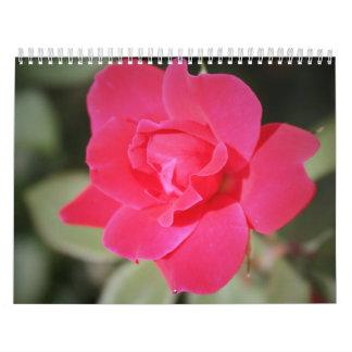 12 month Color Floral Photography Calendar