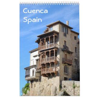 12 month Cuenca, Spain photo calendar