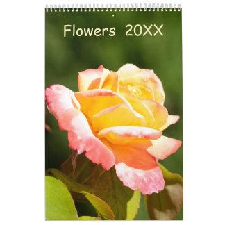 12 month Flowers calendar