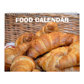 12 month Food Images collection 2017 Calendar