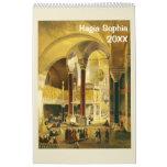 12 month Hagia Sophia Wall Calendar