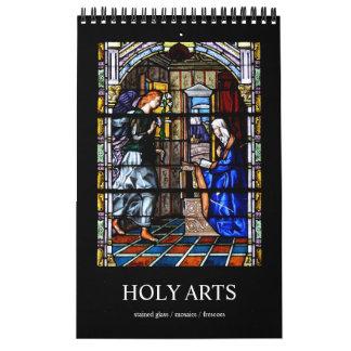 12 month Holy Arts Photo Calendar