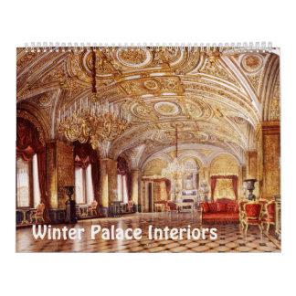 12 month Interiors of Winter Palace Calendar