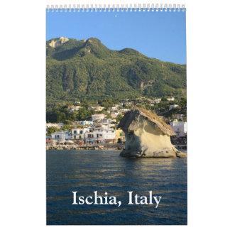 12 month Ischia wall Calendar