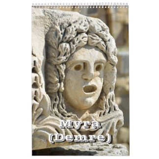 12 month Myra (Demre), Turkey Calendar