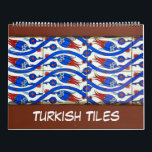 """12 month of Turkish Tiles Calendar<br><div class=""""desc"""">12 month of Turkish Tiles wall calendar. Collection of images from Topkapi palace and Rustem Pasha mosque in Istanbul as well as some other places</div>"""