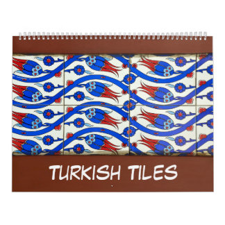 12 month of Turkish Tiles Calendar