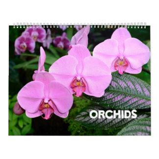 12 month Orchids calendar