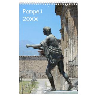12 month Pompeii, Italy Calendar