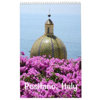 12 month Positano Calendar