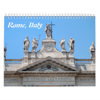 12 month Rome Wall Calendar