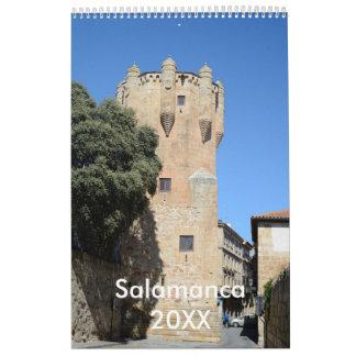 12 month Salamanca, Spain Calendar