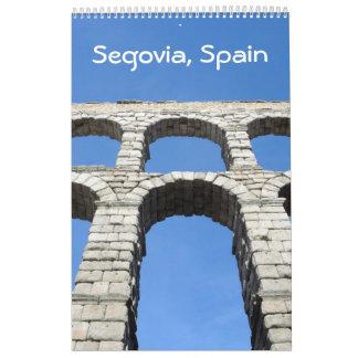 12 month Segovia, Spain photo calendar