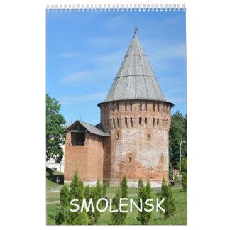 12 month Smolensk, Russia Calendar