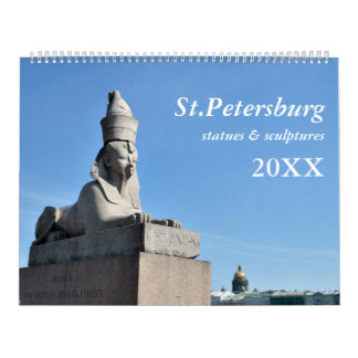 12 month St.Petersburg Calendar