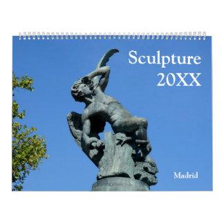12 month Statues & Sculptures Calendar