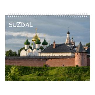 12 month Suzdal, Russia Calendar