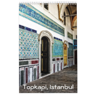 12 month Topkapi palace Photo Calendar