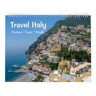 12 month Travel Italy Calendar