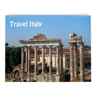 12 month Travel Italy Photo calendar