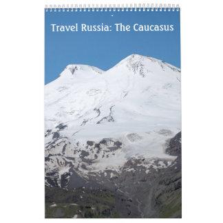 12 month Travel Russia: The Caucasus Calendar