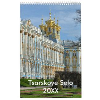 12 month Tsarskoye Selo photo calendar