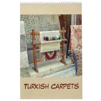 12 month Turkish Carpets 2017 Calendar